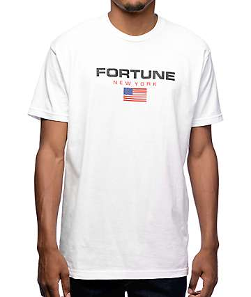 Fortune Sport White T-Shirt
