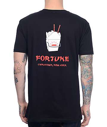 Fortune Takeout Black T-Shirt