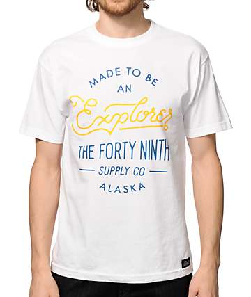 Forty Ninth Supply Co Explorer T-Shirt