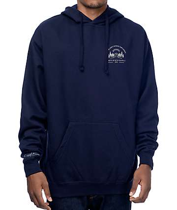 Forty Ninth Supply Co Never Lost Navy Hoodie