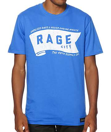 Forty Ninth Supply Co Rage City T-Shirt