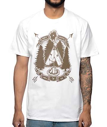 Forty Ninth Supply Co Teepee White T-Shirt