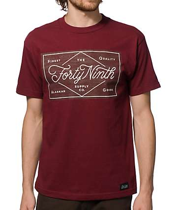 Forty Ninth Supply Co Woodson T-Shirt