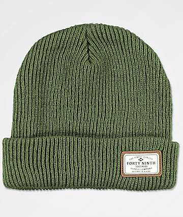 Forty Ninth Supply Co. Huntsman Green Beanie