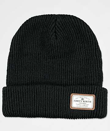 Forty Ninth Supply Co. Huntsman gorro negro