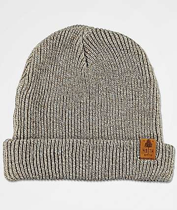 Forty Ninth Supply Co. Mills Cream Beanie