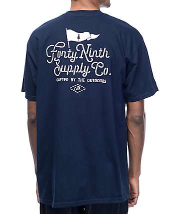 Forty Ninth Supply Co. Treedom Navy T-Shirt