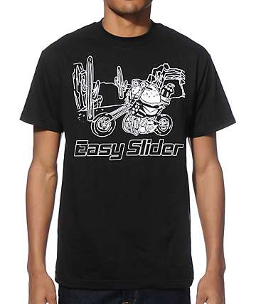 Four Finger Press Easy Slider T-Shirt