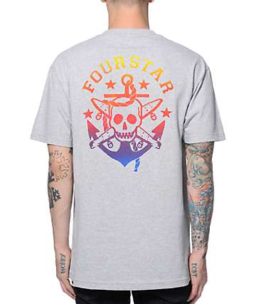 Fourstar Pirate Anchor T-Shirt