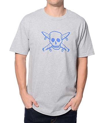 Fourstar Street Pirate Grey T-Shirt
