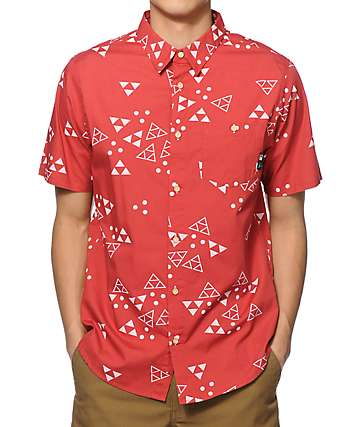 Fourstar x Lakai Mariano Button Up Shirt