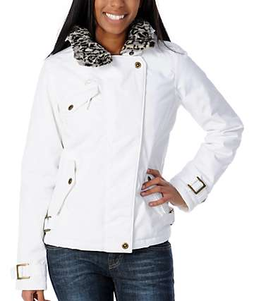 Fox Blindside White Snow Jacket
