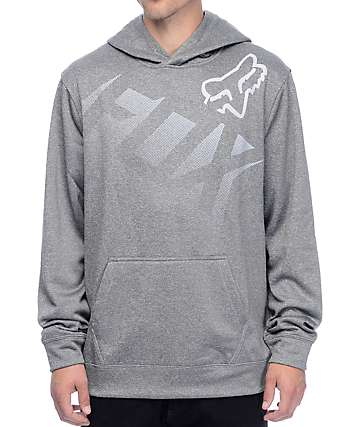 Fox Bunkr Heather Graphite Hoodie