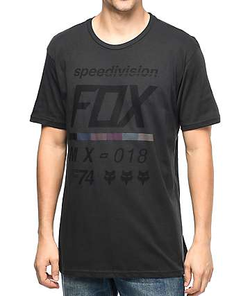 Fox Draftr Vintage Black T-Shirt
