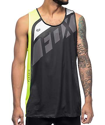 Fox Flexair Seca Florida Yellow Tank Top