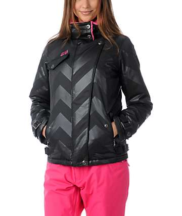 Fox Hot Shot Black Insulated Jacket