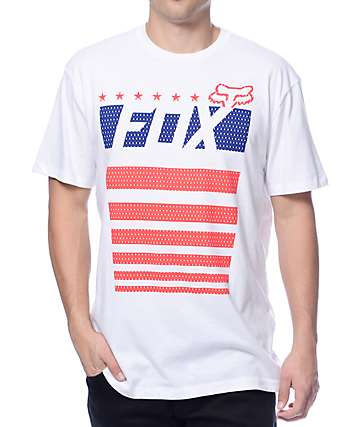 Fox Red White N True White T-Shirt