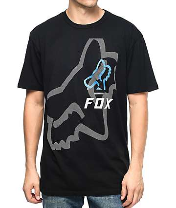 Fox Worn Low Black T-Shirt