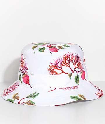 Frank 151 Island Vibes White Bucket Hat