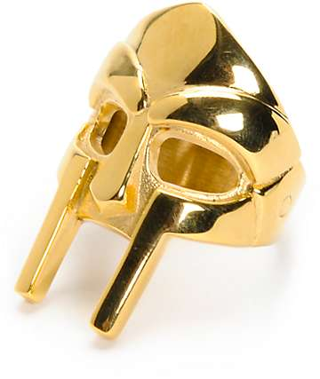 Frank 151 x MF Doom Mask Gold Ring