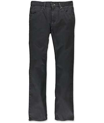 Free World Boys Messenger Charcoal Twill Skinny Pants
