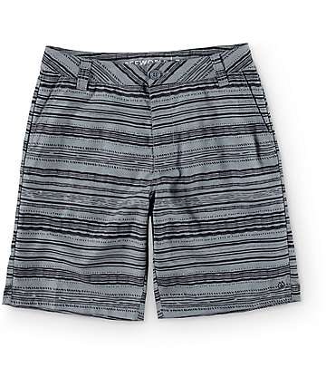 Free World Current Map Hybrid Board Shorts