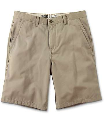 Free World Discord Khaki Chino Shorts