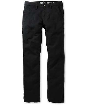 Free World Drifter Black Chino Pants