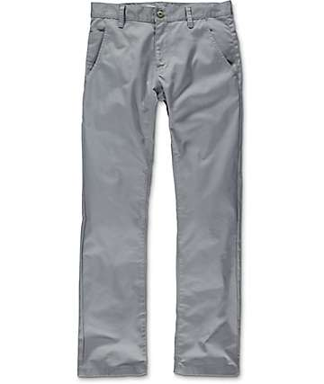 Free World Drifter Grey Chino Twill Pants