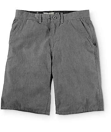 Free World Hayden Heather Grey Soft Chino Shorts
