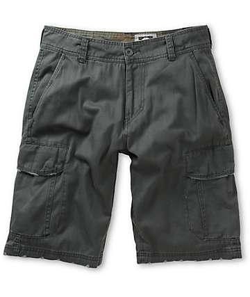 Free World Head Honcho Grey Cargo Shorts