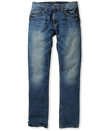 Free World Messenger Detroit Wash Skinny Jeans