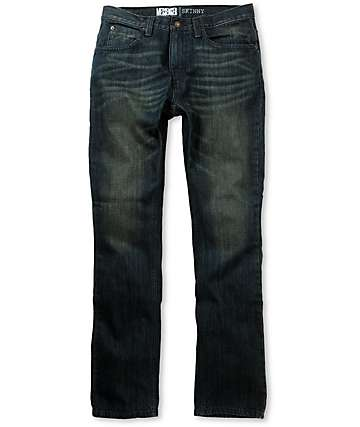 Free World Messenger Dirty Rinse Skinny Jeans