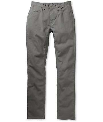 Free World Messenger Grey Twill Skinny Pants