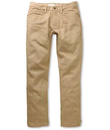 Free World Messenger Jeans Skinny caqui
