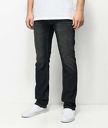 Free World Messenger Stretch Vintage Rinse Skinny Fit Jeans