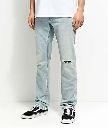 Free World Messenger Westport skinny jeans rotos