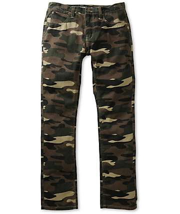 Free World Night Train Camo Regular Fit Pants