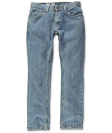 Free World Night Train Jerry Light Blue Regular Fit Jeans