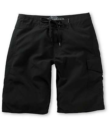 Free World Pipeline Black 21 Board Shorts