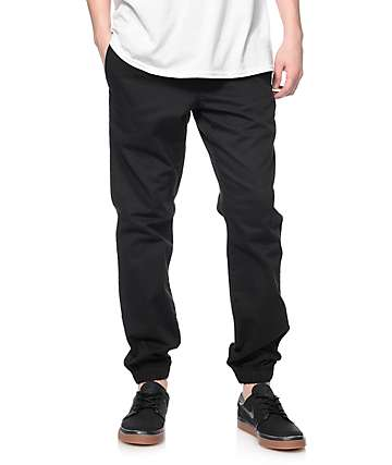 Free World Remy Black Jogger Pants