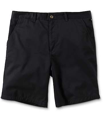 Free World Walker shorts chinos en negro