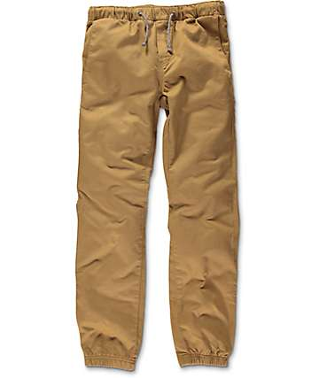 Freeworld Boys Remy Tobacco Jogger Pants