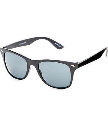 Friday Matte Black Classic Sunglasses