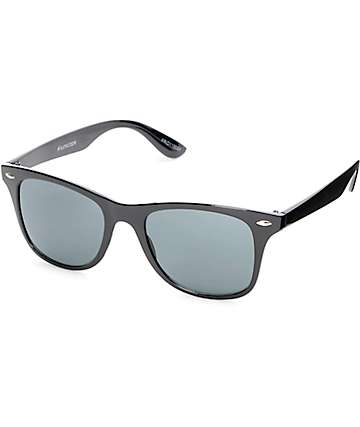 Friday Smoke Gloss Black Sunglasses