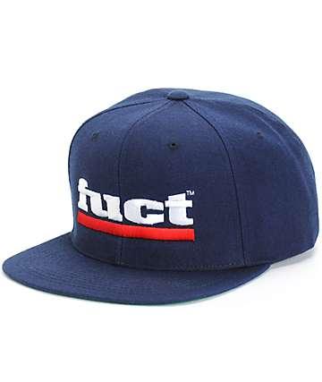 Fuct Bar Logo Snapback Hat