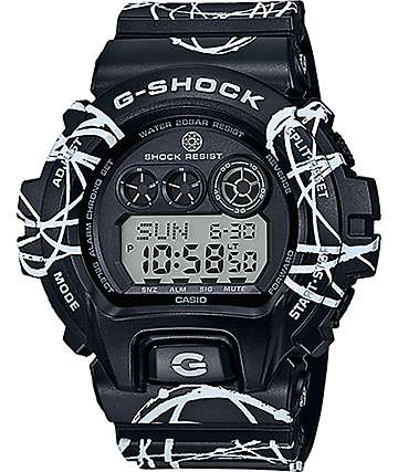 Futra x G-Shock GDX6900FTR-1 Black & White Digital Watch