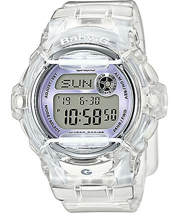 G-Shock Baby-G BG169R-7E Clear & Silver Watch