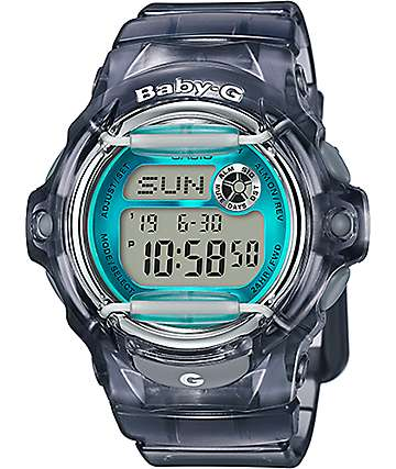 G-Shock Baby-G BG169R-8B Grey & Teal Watch