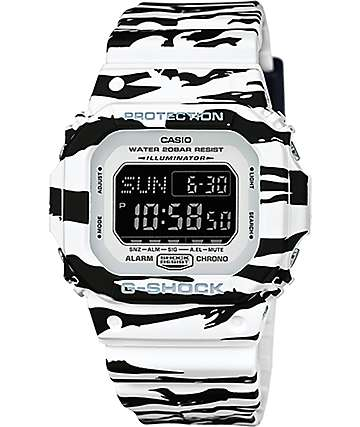 G-Shock DWD5600BW-7 Tiger Camo Digital Watch
